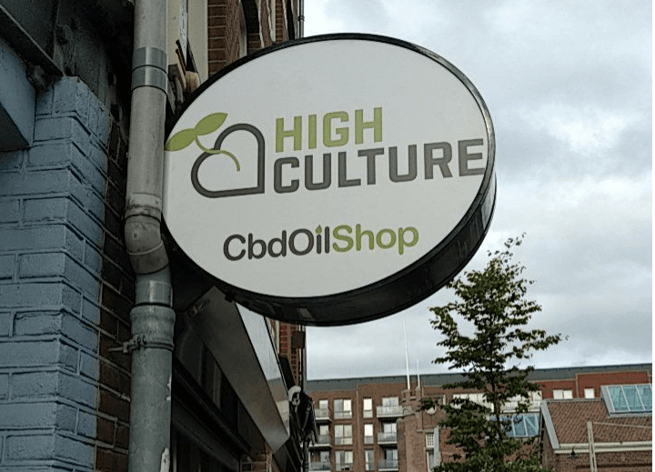 CBD Oil Shop Amsterdam Flagship Store