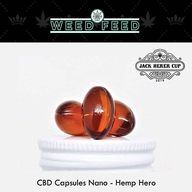 We won the Amsterdam Jack Herer Cup 2019 2nd Place Best CBD Product