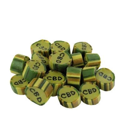 Cibiday - CBD Peppermint Candies